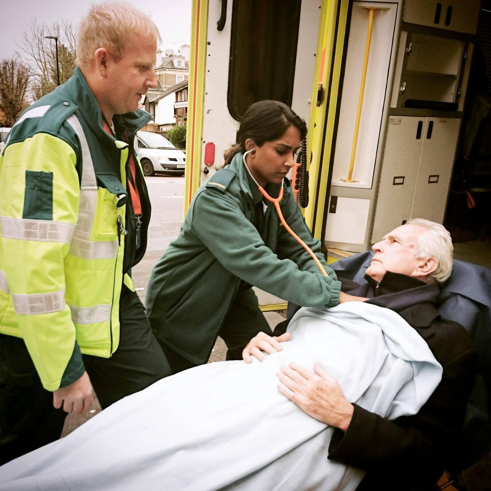 Filming Ambulance Staff Hire