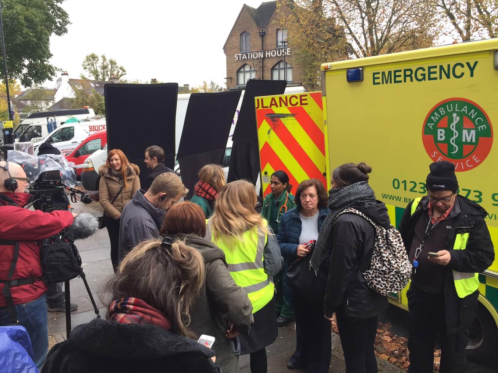 Film Set Filming Ambulance Hire
