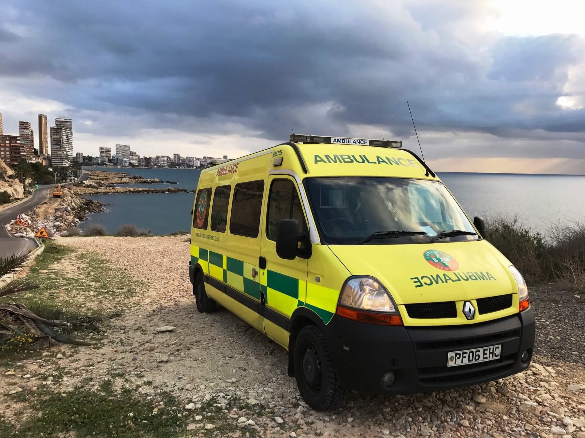Ambulance Repatriation from Albufereta - Alicante