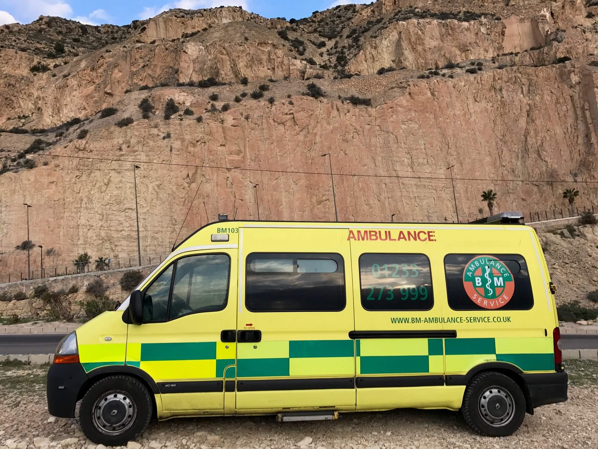 Ambulance Repatriation from Valencia