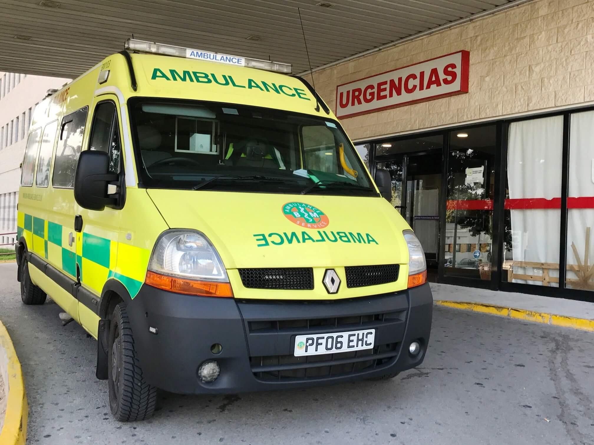 Ambulance Repatriation from Orihuela, Valencia
