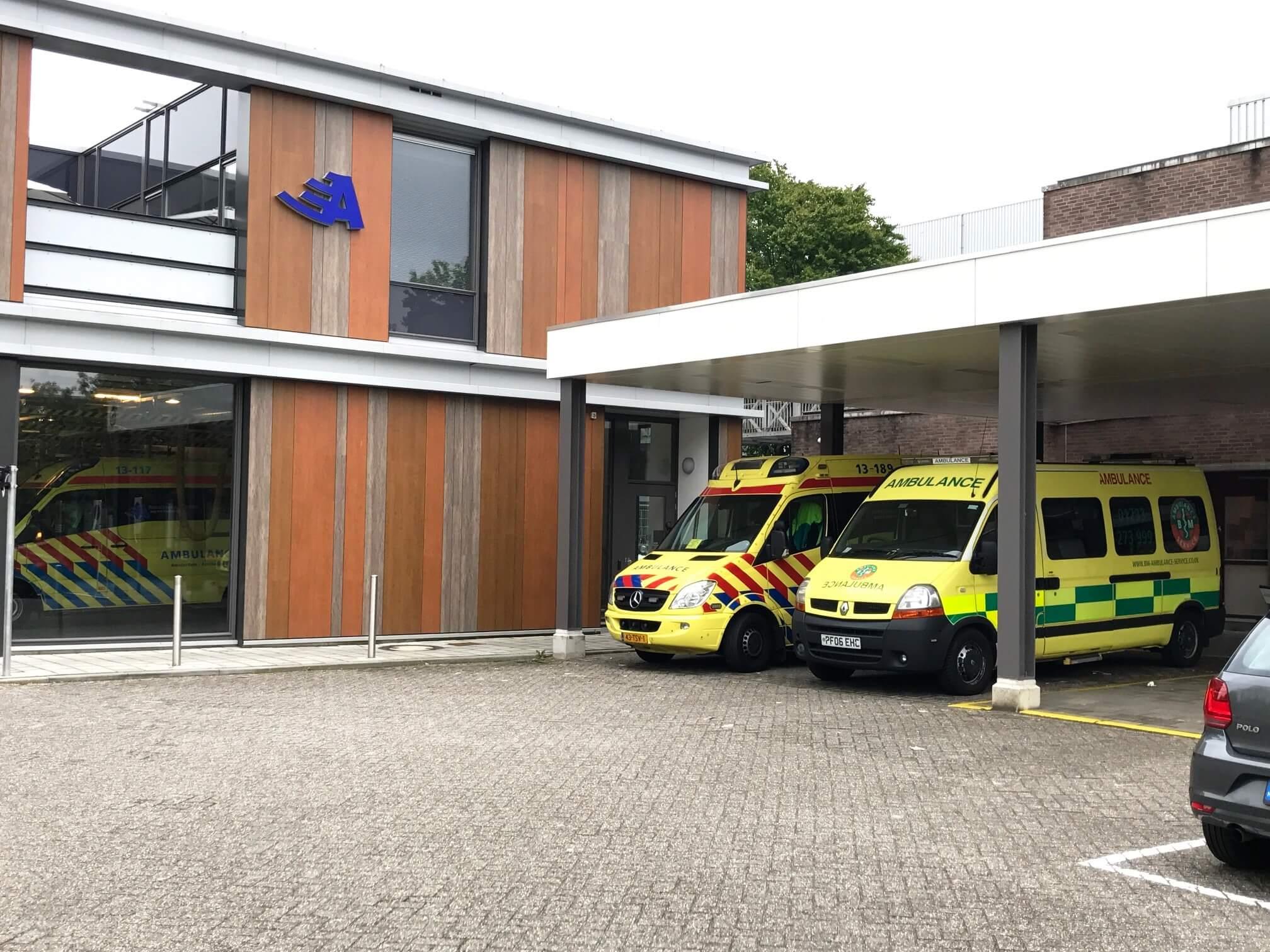 Ambulance Repatriation, Amsterdam, Netherlands